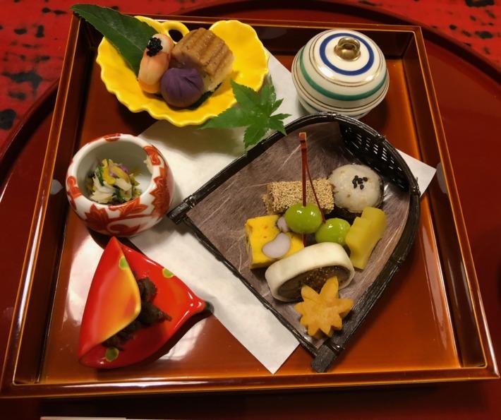 【松島佐勘 松庵】夕食の季節の懐石コース