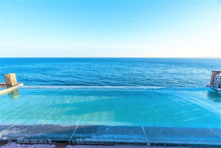 海一望絶景の宿いなとり荘 絶景露天風呂
