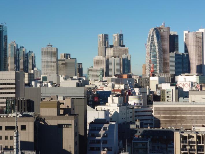 ONSEN RYOKAN 由縁新宿 部屋からの眺め