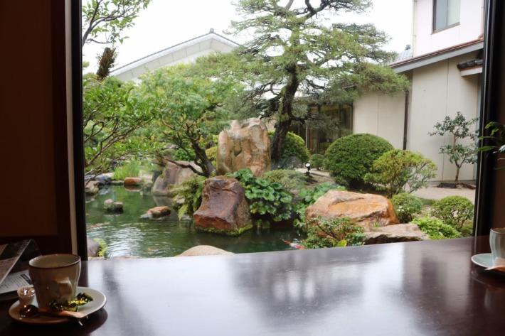 さぎの湯荘 日本庭園