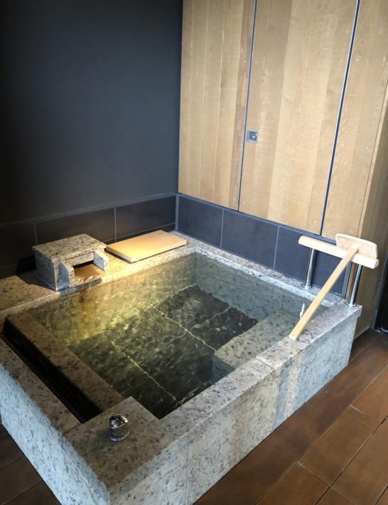 ふふ河口湖 客室風呂