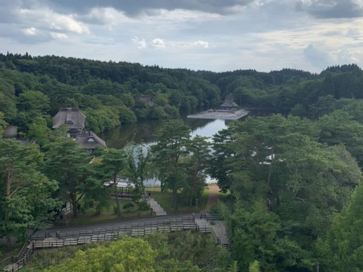 星野リゾート青森屋 客室からの眺め
