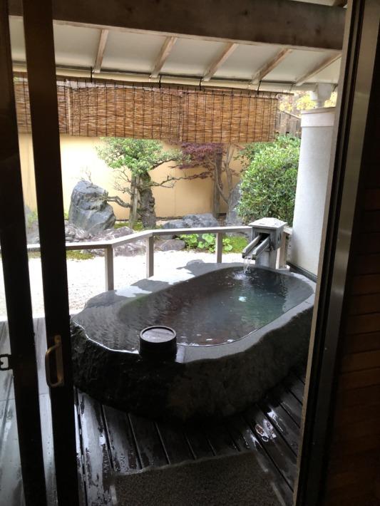さぎの湯荘 貸切露天風呂