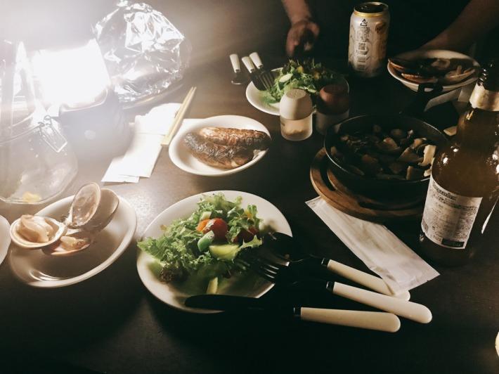 リソルの森 夕食 BBQセット