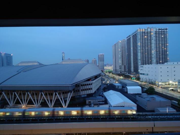 ヴィラフォンテーヌグランド東京有明からの眺め