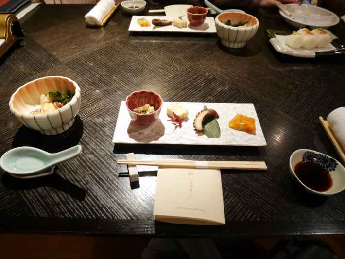 淡路夢泉景 夕食 前菜