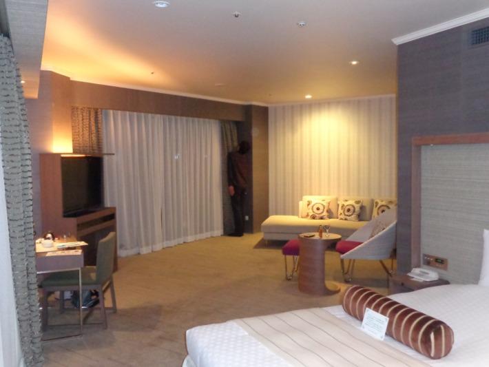 ラグナガーデンホテル 客室の様子