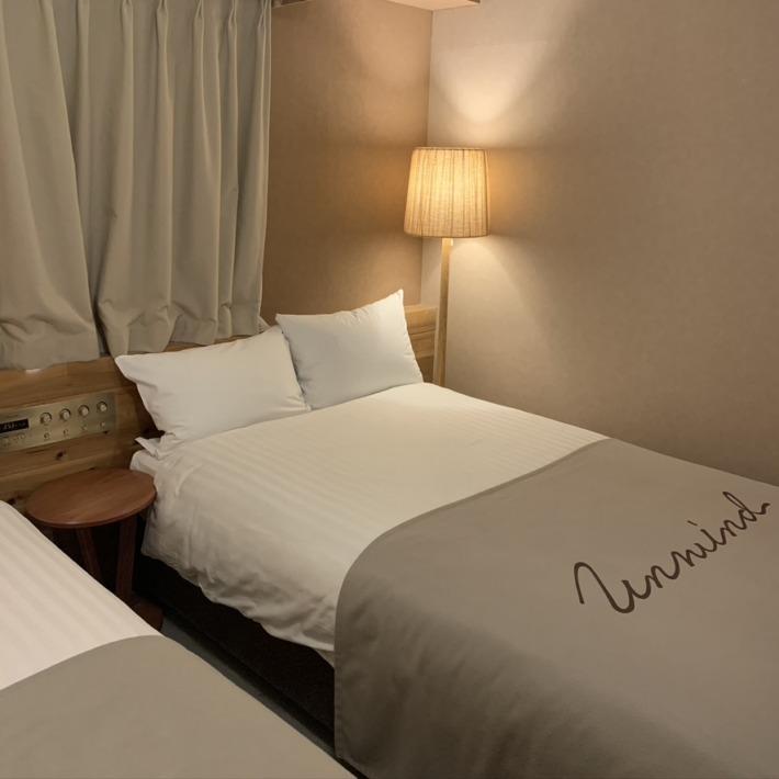 UNWIND HOTEL&BAR SAPPORO 客室 ベッド
