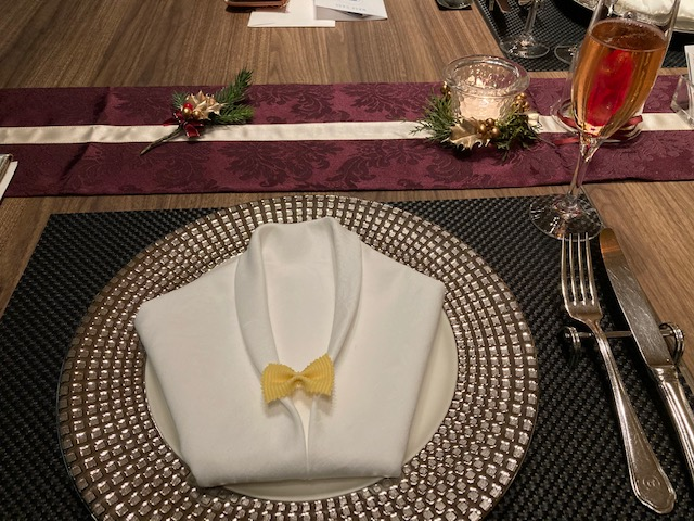 丸ノ内ホテル内レストラン ポム・ダダン アーリークリスマスコース