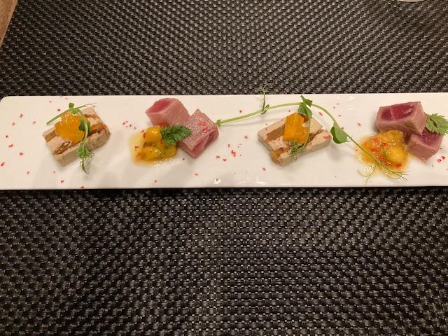 丸ノ内ホテル内レストラン ポム・ダダン アーリークリスマスコース 前菜