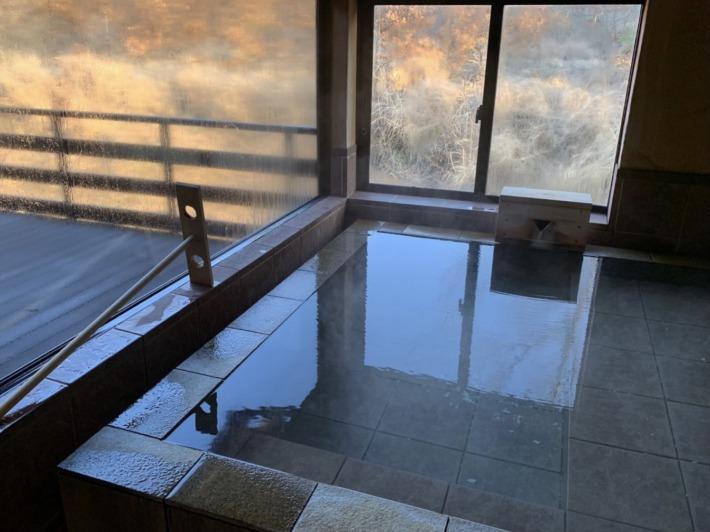 里の湯 和らく 客室半露天風呂