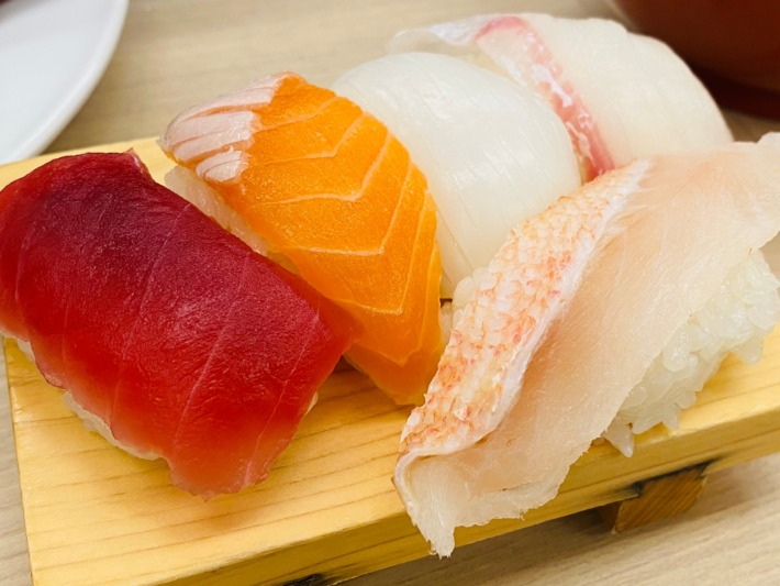 ホテルグリーンプラザ箱根 夕食 お寿司