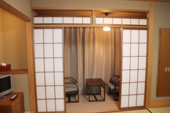 京都嵐山 花のいえ 客室の様子
