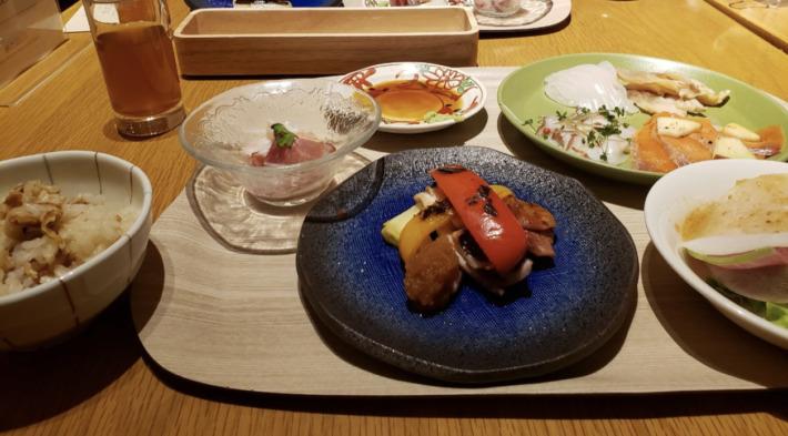 星野リゾート奥入瀬渓流ホテル 夕食