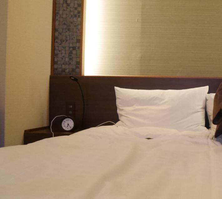 淡路夢泉景 客室 ベッド