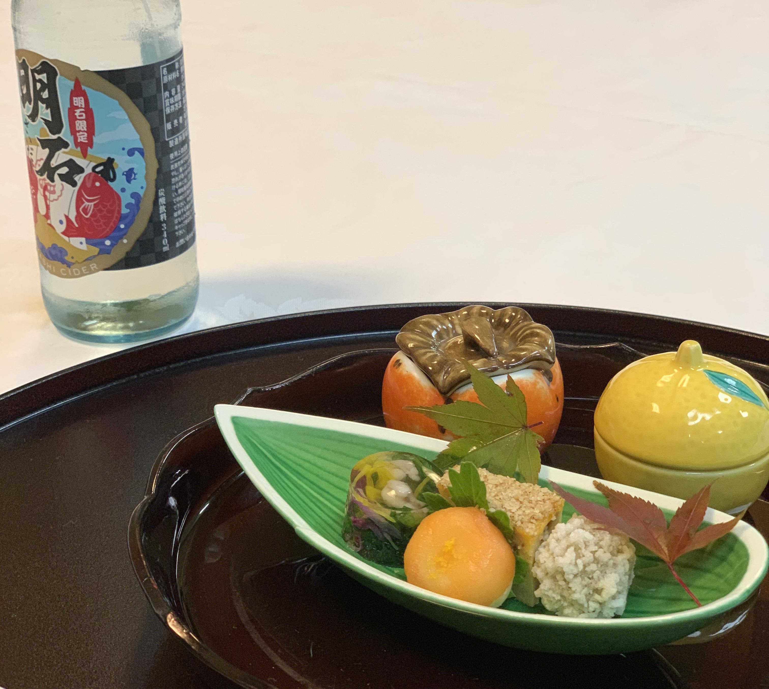 人丸花壇 夕食:前菜
