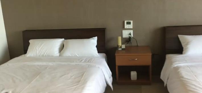 ホテルうみね 寝室