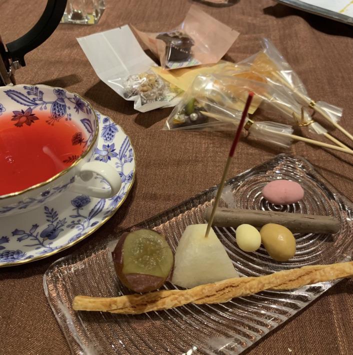 KIARAリゾート&スパ浜名湖 レストラン「シエルブルー」夕食:デザートワゴン