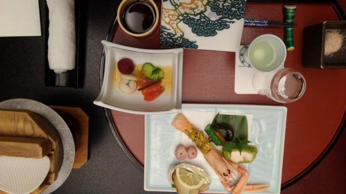常盤ホテル 夕食 前菜