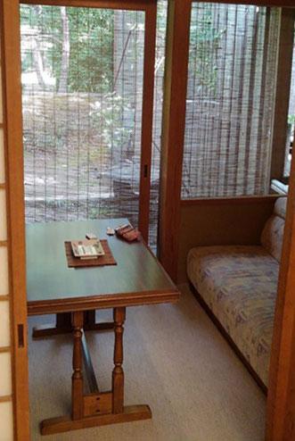 常盤ホテル 客室内の小部屋