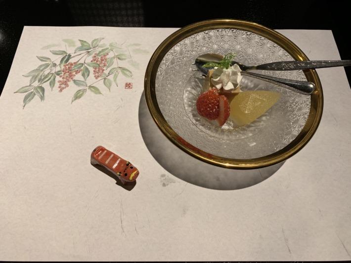 守田屋 夕食 デザート
