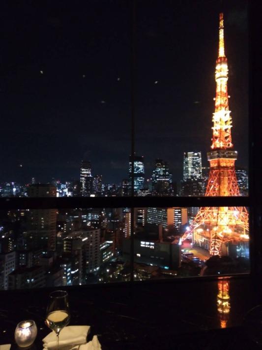 ザ・プリンスパークタワー東京内『スカイラウンジ ステラガーデン』からの眺め
