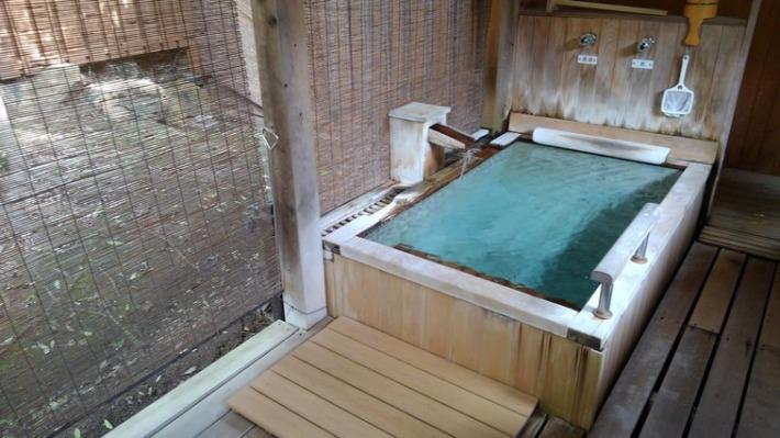 常盤ホテル 客室露天風呂