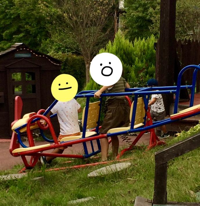 エルモンテ・キャンディハウス 遊具と子供