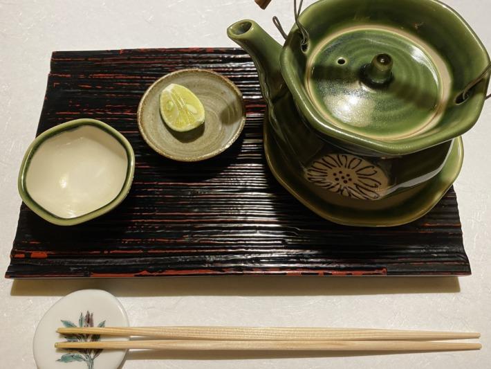 星野リゾート界加賀 夕食 松茸の土瓶蒸し