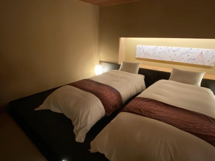星野リゾート界加賀 ベッドルーム