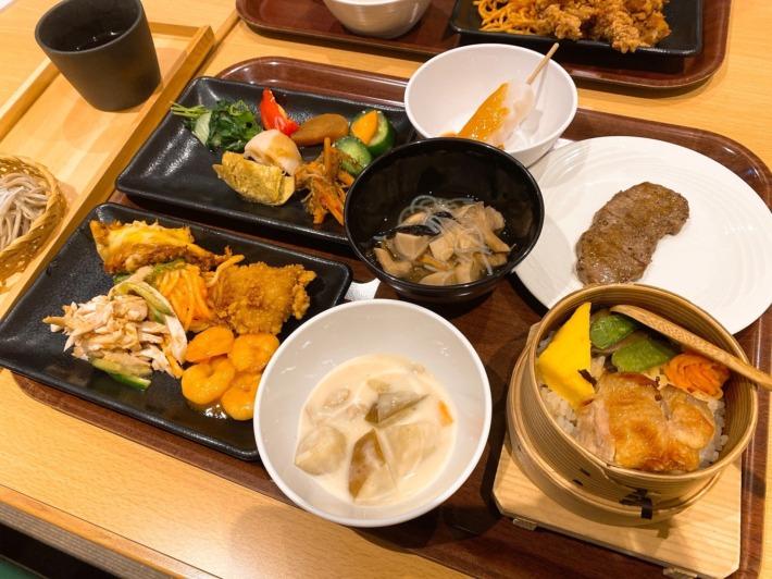 星野リゾート 磐梯山温泉ホテル ビュッフェレストラン「kisse・kisse」夕食