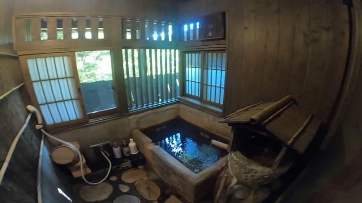 お宿のし湯 客室風呂
