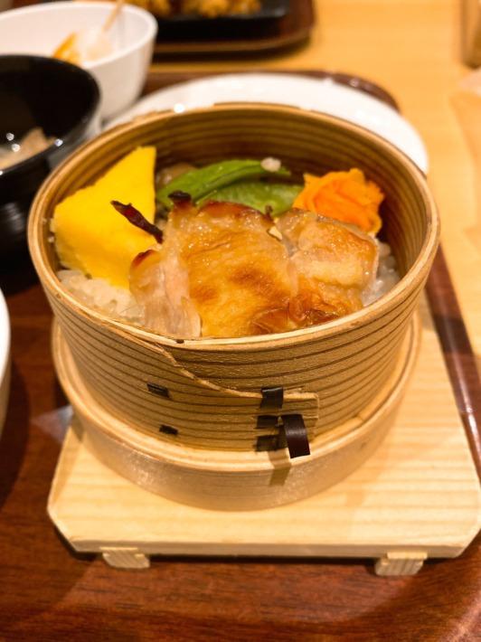 星野リゾート 磐梯山温泉ホテル ビュッフェレストラン「kisse・kisse」夕食 わっぱご飯