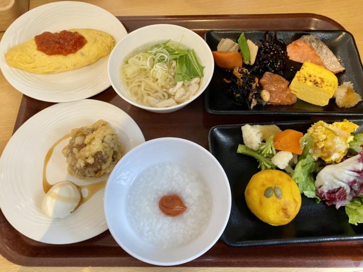 星野リゾート 磐梯山温泉ホテル ビュッフェレストラン「kisse・kisse」朝食