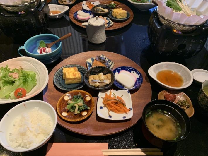 守田屋 朝食