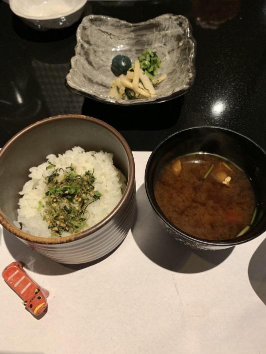 守田屋 夕食