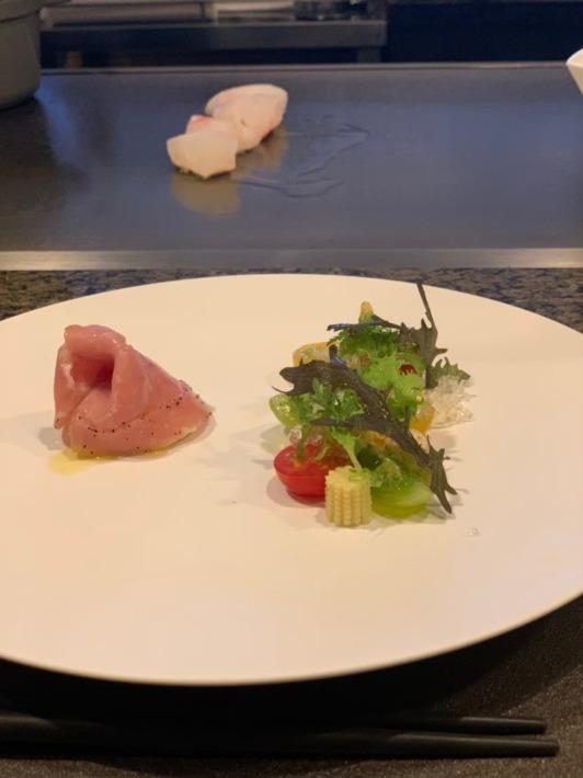 エクシブ鳥羽別邸 夕食:前菜