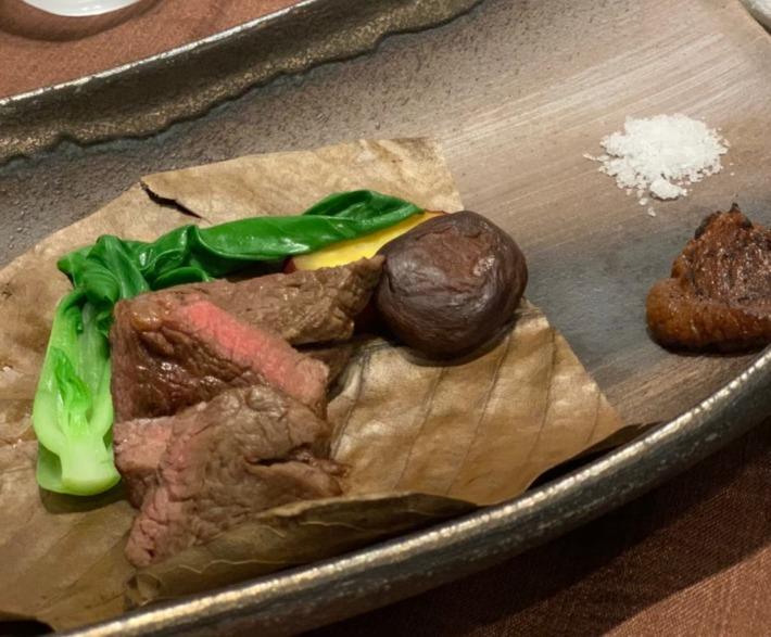 KIARAリゾート&スパ浜名湖 レストラン「シエルブルー」 夕食:肉料理