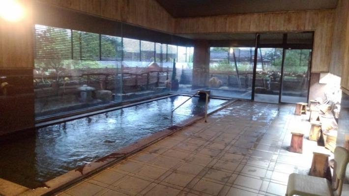 常盤ホテル 広々とした大浴場