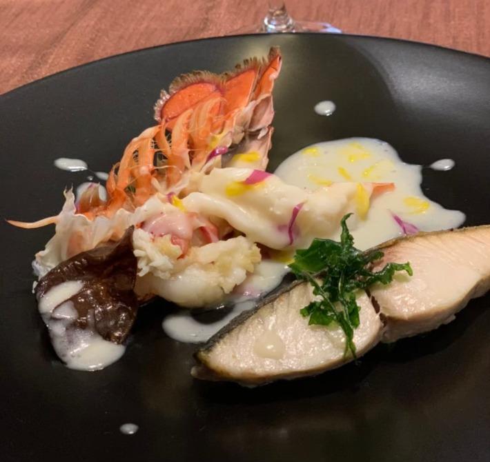 KIARAリゾート&スパ浜名湖 レストラン「シエルブルー」 夕食:魚料理