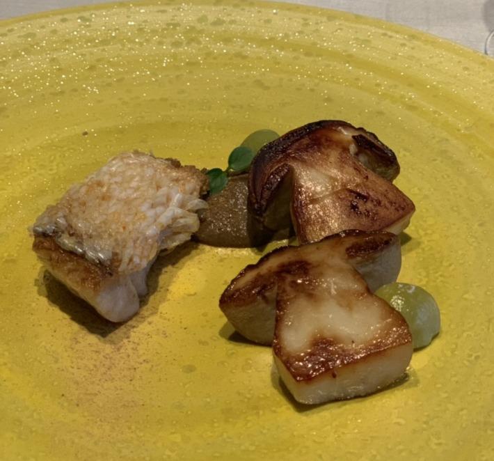 ラグーナベイコート倶楽部 メインダイニング「MAROCE」夕食:魚料理