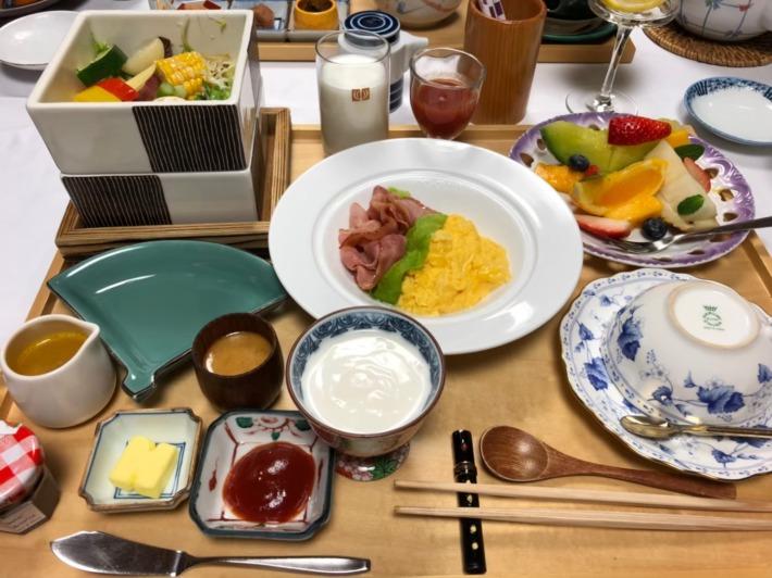 中の坊瑞苑 朝食