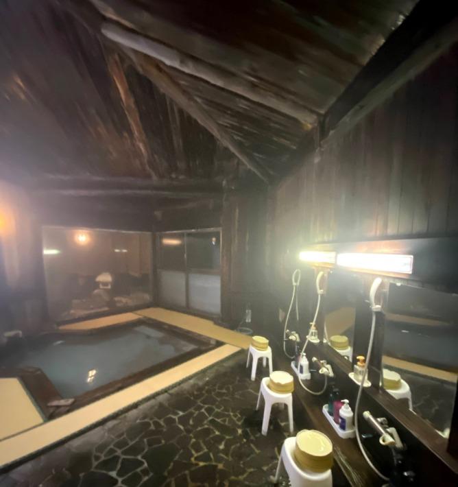 山のホテル お風呂