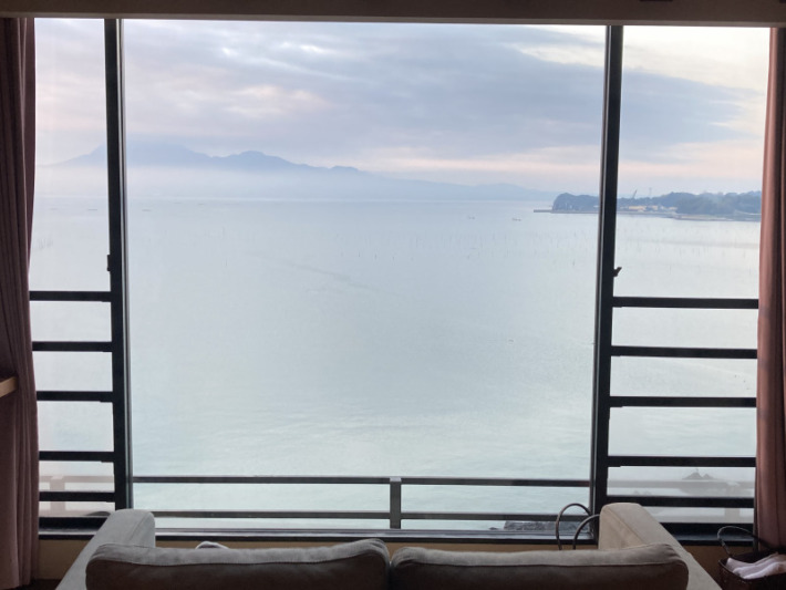 ホテル蟹御殿 客室からの眺め