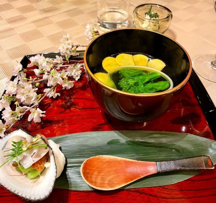 Hiramatsu 仙石原 ダイニングレストラン 夕食