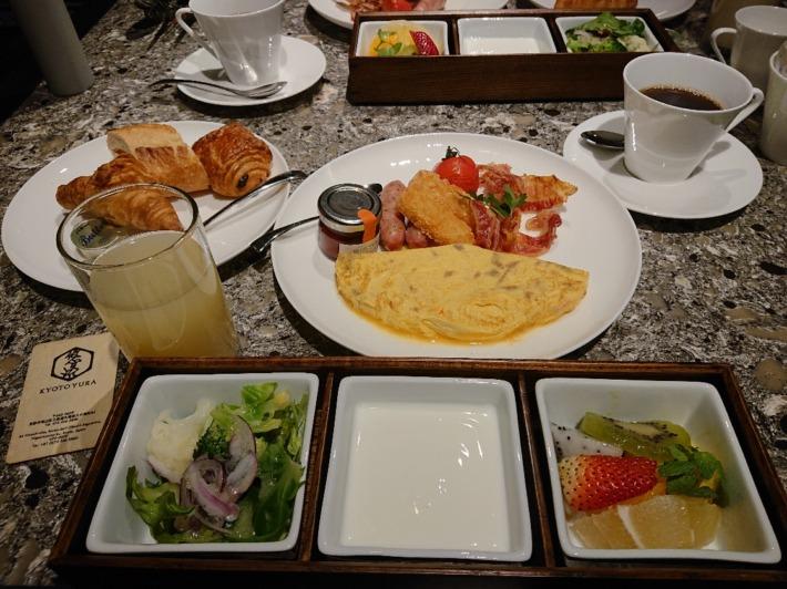 京都悠洛ホテルMギャラリー 朝食