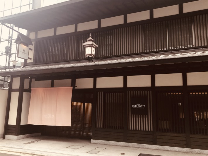 ホテルインターゲート京都四条新町 外観