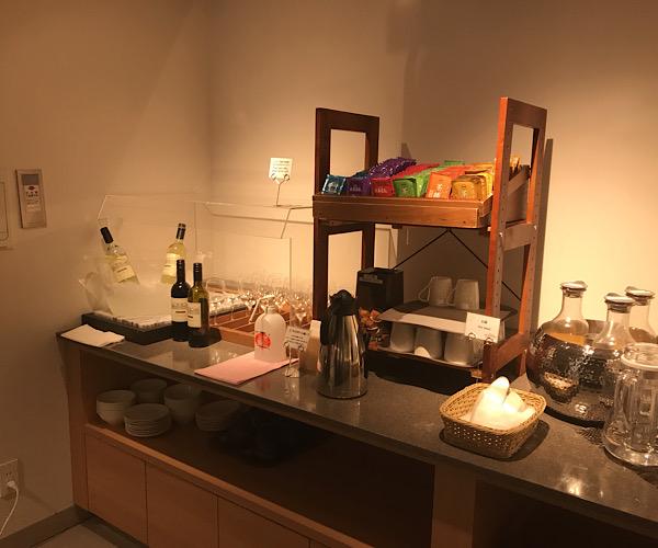 ホテルインターゲート京都四条新町 館内 ラウンジ
