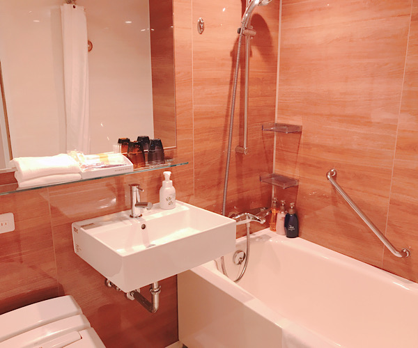 ホテルインターゲート京都四条新町 館内 客室 バスルーム