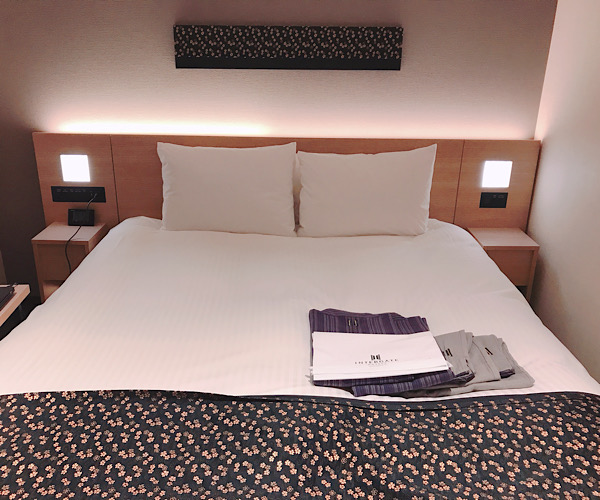 ホテルインターゲート京都四条新町 館内 客室 ベッドルーム